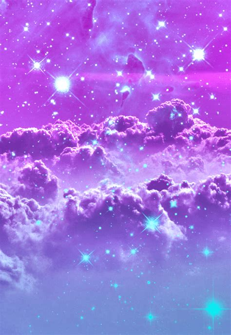 galaxy car gif trippy space galaxy purple stars