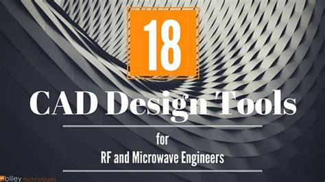 design engineer ohio 18 cad tools every rf and microwave design engineer should
