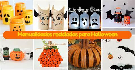 Imagenes De Halloween Reciclables | 14 manualidades recicladas para halloween