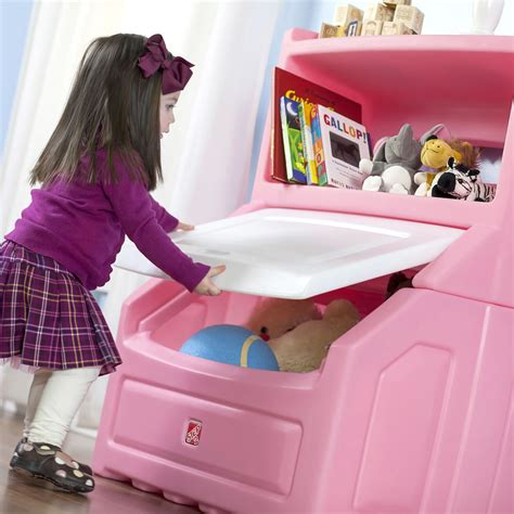 step2 lift and hide bookcase storage chest lift hide bookcase storage chest pink step2