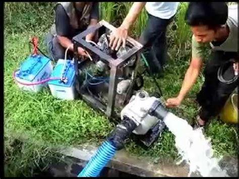 Pompa Air Mini Bensin inovasi mesin pompa air tanpa bbm dan pln