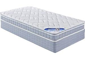 serta beechgrove low profile mattress set low