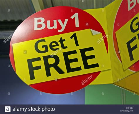 tesco mobile sign in a quot buy 1 get 1 free quot sign in a tesco supermarket uk