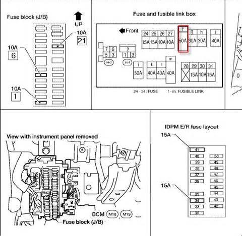2004 maxima fuse diagram the knownledge