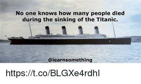 How Many Died In The Sinking Of The Lusitania titanic memes of 2016 on sizzle dank