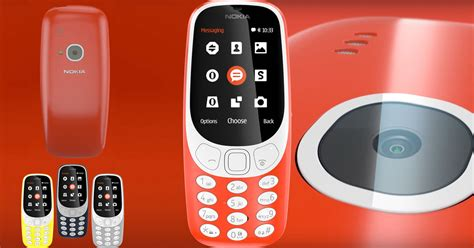fb nokia the new nokia 3310 is officially back and so is the snake