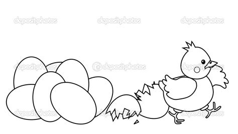 free printable chicken coloring pages plain chicken to color happy easter chicken hatched from egg coloring page bebo