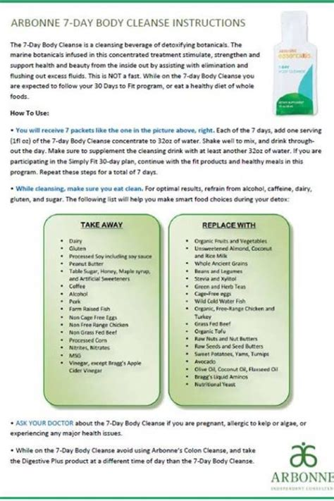 Http Www Teamiblends 30 7 Best Detox Plan by 17 Best Images About Arbonne On 30 Day
