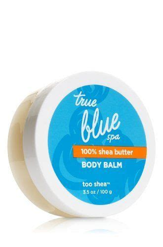 true blue bathrooms bath body works true blue spa body balm too shea 3 5