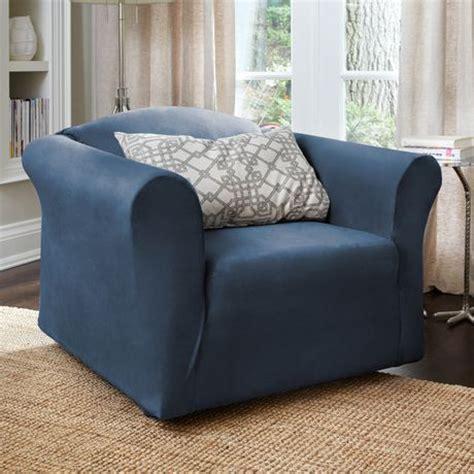 chair slipcovers walmart surefit harlow stretch chair slipcover walmart ca
