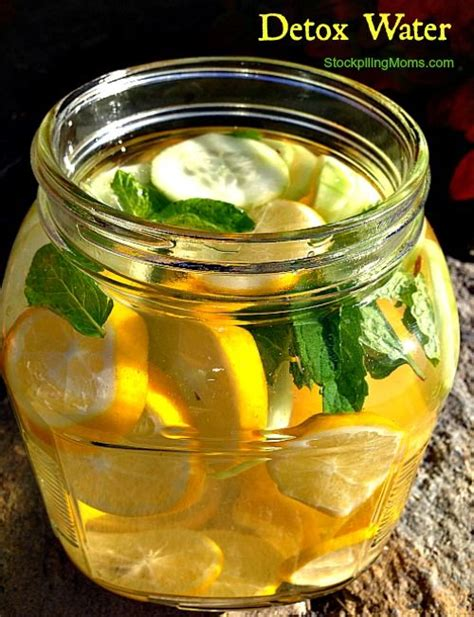 Whole Lemon Detox Drink by Check Out Detox Water It S So Easy To Make