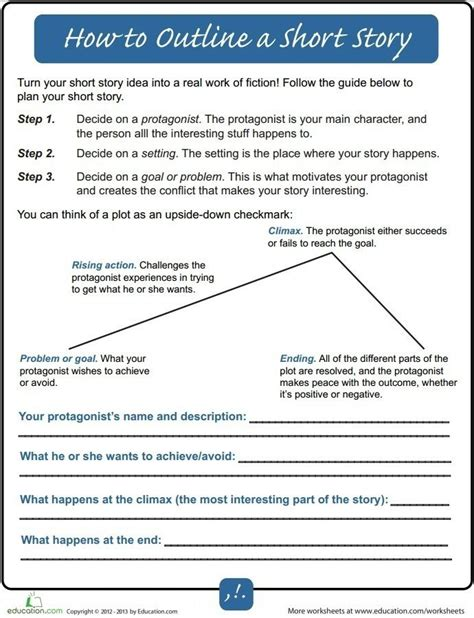 writing a story template 52 best images about essay writing worksheets on