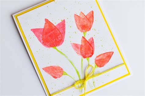 to make greeting cards how to make easy greeting card s s day