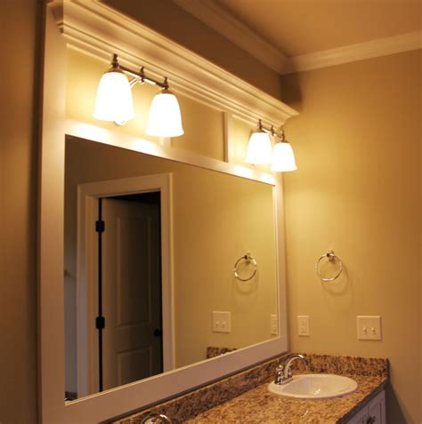 17 best ideas about frame bathroom mirrors on