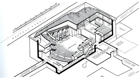 Floor Plan With Dimensions by Theatre Database Theatre Architecture Database Projects