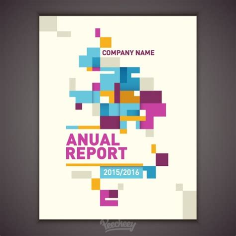 Free Report Cover Templates Green Report Cover Page Template Free Vector