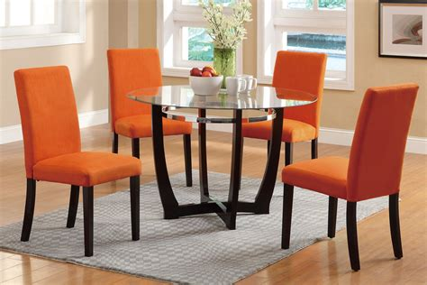 orange dining room sets dining table set f2348 f1303 bb s furniture store