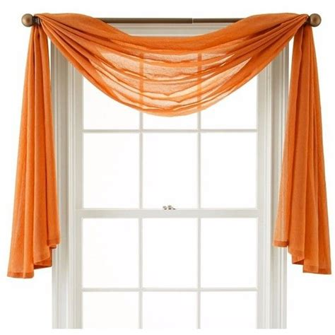 window curtain scarf best 25 scarf valance ideas on pinterest curtain scarf
