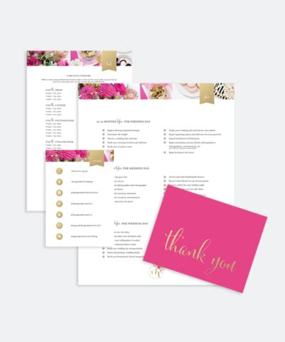 welcome packet template templates megan martin creative