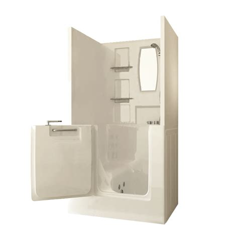 walk in bathtubs and showers sanctuary small shower enclosure walk in tub ameriglide