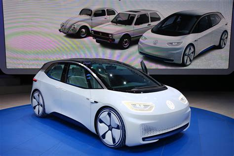 2016 volkswagen i d electric concept car gtspirit