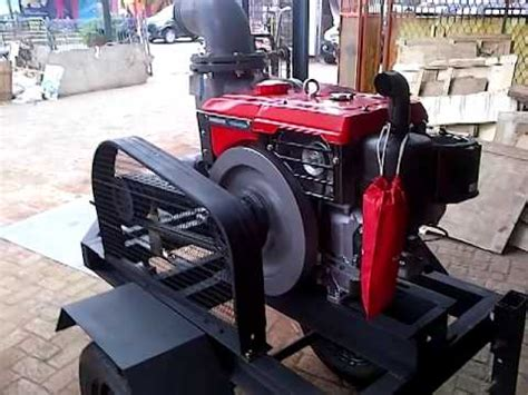 Pompa Air Kubota diesel engine yanmar startup funnydog tv