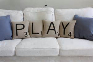 play scrabble pillows cases only scrabble tile by