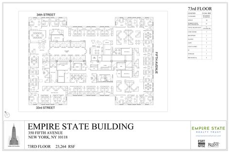 empire state building floor plan empire state building plan da ara skyscraper
