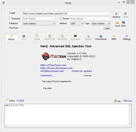 full cracked softwares blogspot downloads havij v 1 17 pro full crack