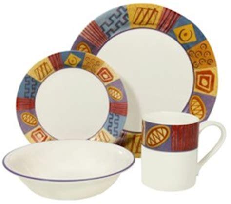 tribal pattern dinnerware discontinued corelle tribal dinnerware