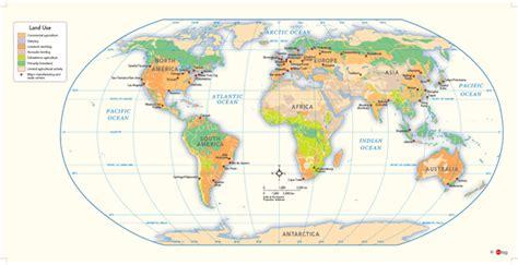 world land  wall map  geonova