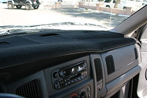2005 Dodge Ram 1500 Interior Parts by Angry Elephant Black Carpet Dashboard Cover 2002 2005