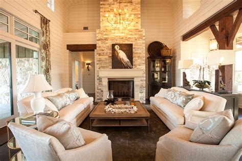 southern style living rooms texas southern living showcase home