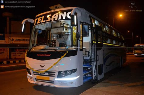Bangalore To Pune Sleeper by Telsang Tata Ac Veera V5 Sleeper Hubballi Pune Part
