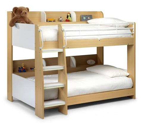 Sturdy Bunk Bed Maple White Bunk Bed Solid Sturdy Julian Bowen Domino Bunk Shelves Ebay