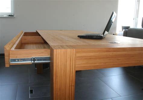 lade da scrivania bamboe bureau