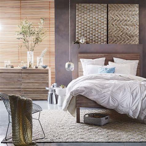 west elm stria bed stria 6 drawer dresser cerused white west elm