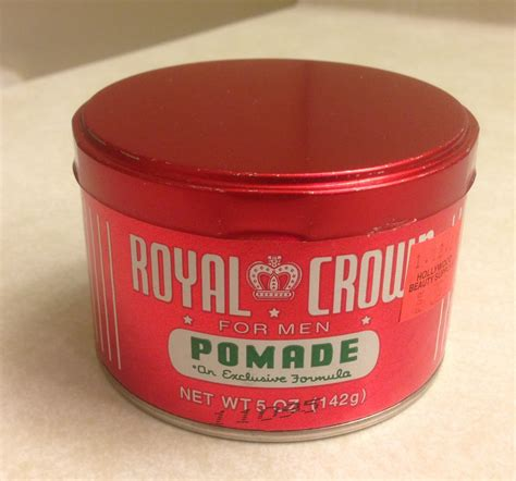 Pomade Royal Crown the roosters den royal crown pomade review