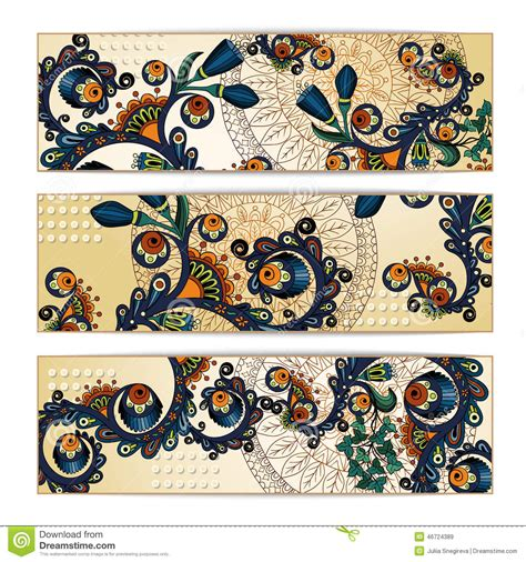 batik pattern background in vector paisley batik background ethnic tribal cards stock image