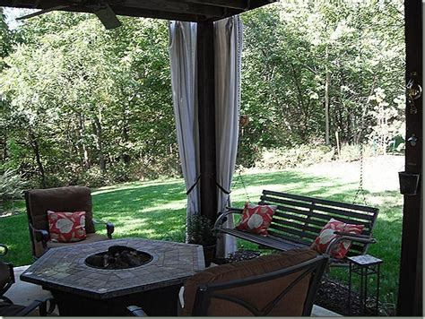 diy outdoor patio curtains outdoor curtains for the yard pinterest