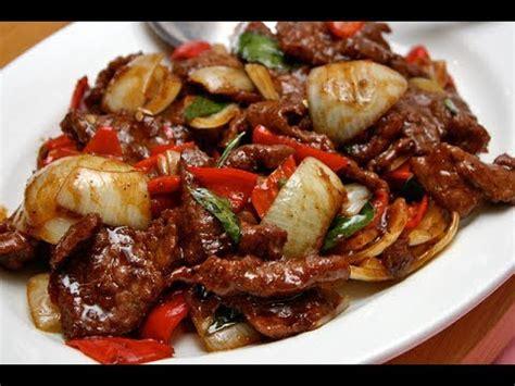 resep daging sapi lada hitam spesial youtube