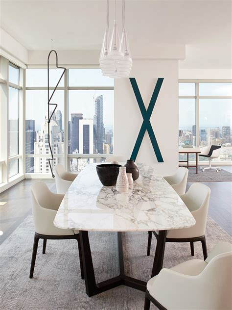 modern white dining room table white urban photos hgtv