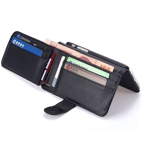 Leatherish Flipcase For Iphone 6 6 Plus Samsung Grand 2 S5 wallet cards protective flip leather for iphone 6 6s