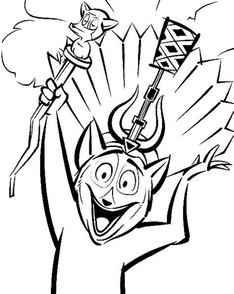 king julien coloring page free coloring pages of winn dixie movie