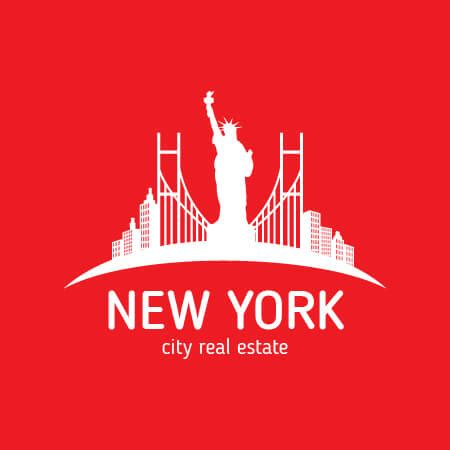 logo design nyc free new york real estate logo design template for free