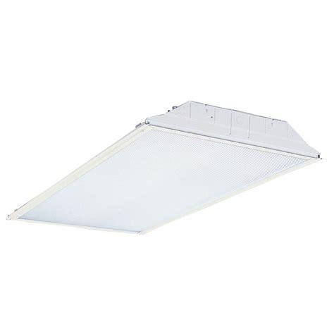 2 foot fluorescent light lithonia lighting 2 ft x 4 ft 3 light fluorescent lensed