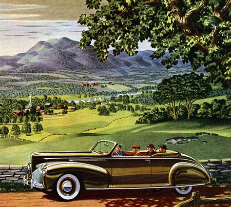 old cars and repair manuals free 2013 lincoln mks parking system 1940 lincoln zephyr they don t make ads like this anymore