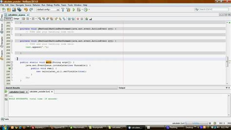 tutorial java calculator java tutorials netbeans calculator 2 3 youtube