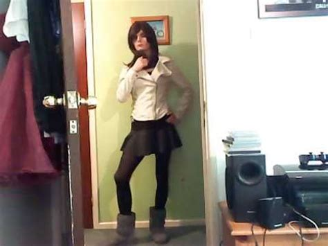 cd mini skirt jacket  boots youtube