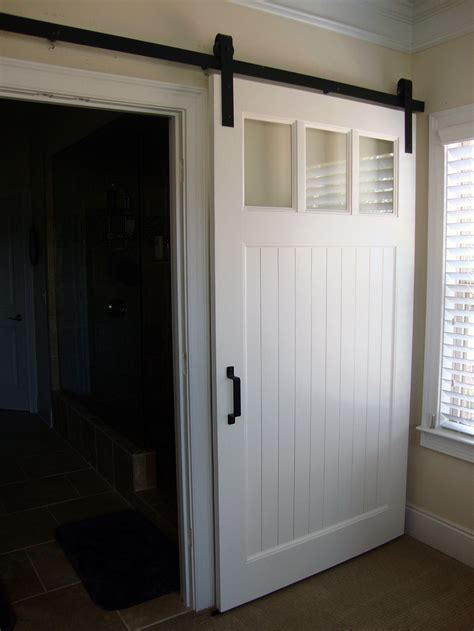 Barn Door For Interior Modern Panel Barn Door